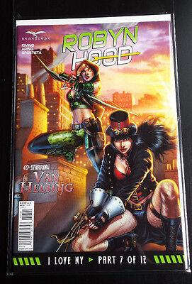 ROBYN HOOD # 7 I LOVE NY ZENESCOPE COMICS BAGGED/BOARDED
