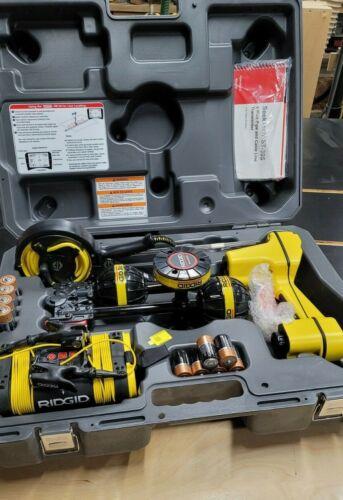 "RIDGID SR-20 Line Locator w/4"" Clamp & ST305 Transmitter"