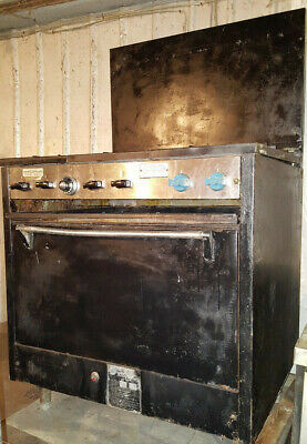 Commercial Comstock Castle 36 6 Six Burner Natural Gas Stove Range W Oven