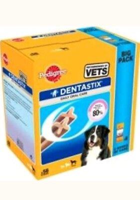 Pedigree Dentastix Dog Dental Treats 56 Stick Large Dog Teeth Chew