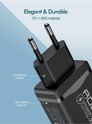 CARGADOR USB ROCK Carga Rapida QC 3.0 ⭐ Universal