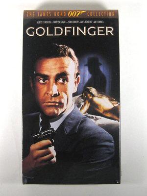 Goldfinger The James Bond 007 Collection VHS