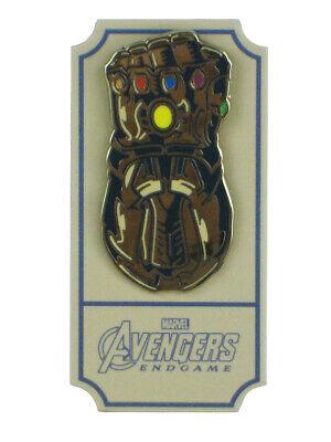 Infinity Gauntlet Avengers Endgame Mondo Enamel Pin Alamo Drafthouse Exclusive - $29.99