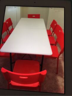 Table and chairs for Hire Byford Serpentine Area Preview