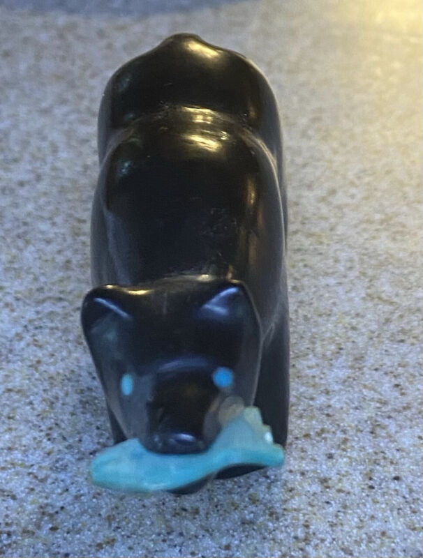 Vintage Zuni Fetish-Native American Animal Carving- 3 Inches