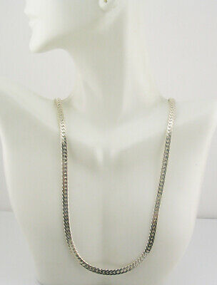 Kenneth Jay Lane Snake  Chain Necklace  22