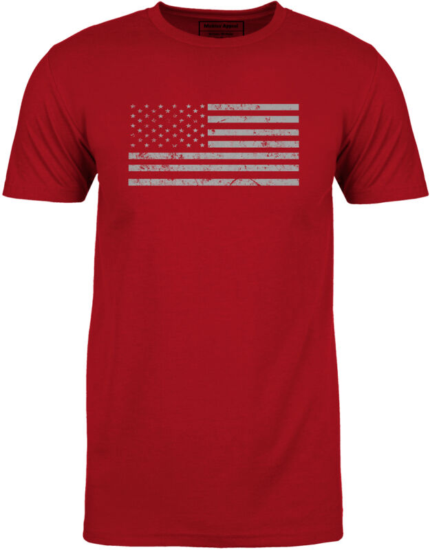 Mobius Apparel Red Flag Tee - Large
