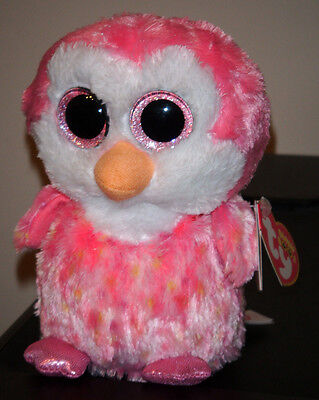 """Ty Beanie Boos ~ CHILLZ the 6"""" Penguin (NEW RED TAG VERSION) Exclusive ~ MWMT'S"""