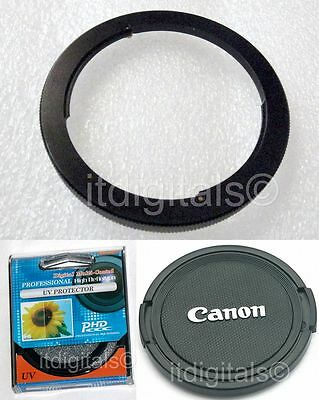 67mm Filter Adapter Uv Lens Cap Canon Powershot Sx30 Is S...