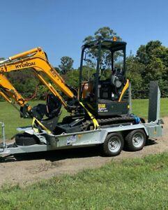 2.5t Excavator to Hire Sunshine Coast $275 a day