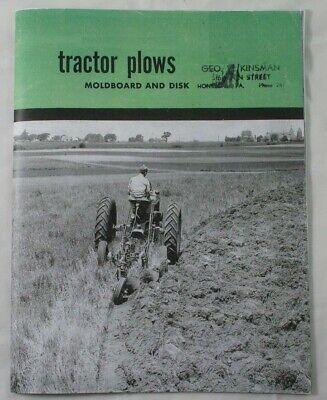 Ih Mccormick Moldboard Disk Trailer Plows Farmall Tractor 8 10 11 14 3 4 38 39