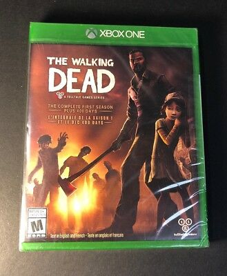 The Walking Dead [ The Complete First Season Plus 400 Days ] (XBOX ONE)