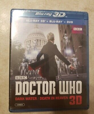 Doctor Who Dark Water Death in Heaven 3D Blu ray/Blu ray/DVD Brand New