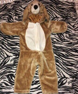 Golden Retriever Halloween Costumes (PLUSH DOG Golden Retriever    Halloween Costume Baby Toddler size 24 MONTH)