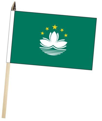 China Macau Region Large Hand Waving Courtesy Flag