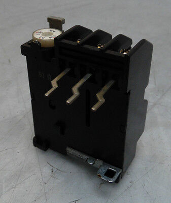 Fuji Electric Overload Relay, # TR-0/3, 0.95-1.45 A Range, Used, Warranty
