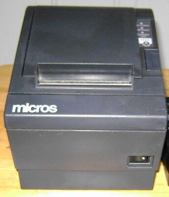 Epson Micros Tm-t88iii M129c Pos Receipt Printer - Idn Port - No Ac Adapter