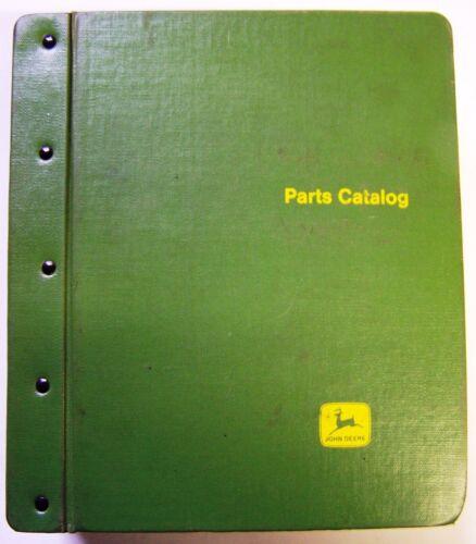 John Deere 4400 and 6600 Combines Parts Manuals In Factory Binder
