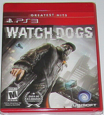 Watch Dogs (Sony PlayStation 3, 2014)