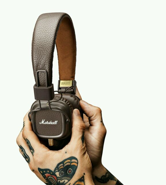 Genuine Marshall Major MK II Headphones.UK Seller.Marshall Major 2 Brown Edition