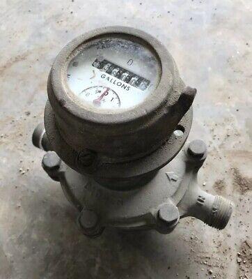Badger Brass Water Meter - Milwaukee Usa