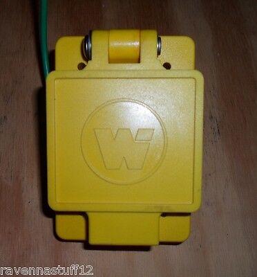 Woodhead 65w04 Watertite Flip-lid Female Receptacles15a125v New No Box