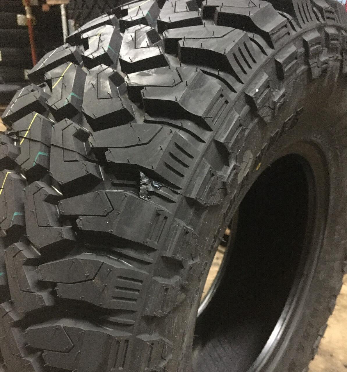 Owner 4 NEW 35x12.50R20 Centennial Dirt Commander M/T Mud Tires MT 35 12.50 20 R20 LRF