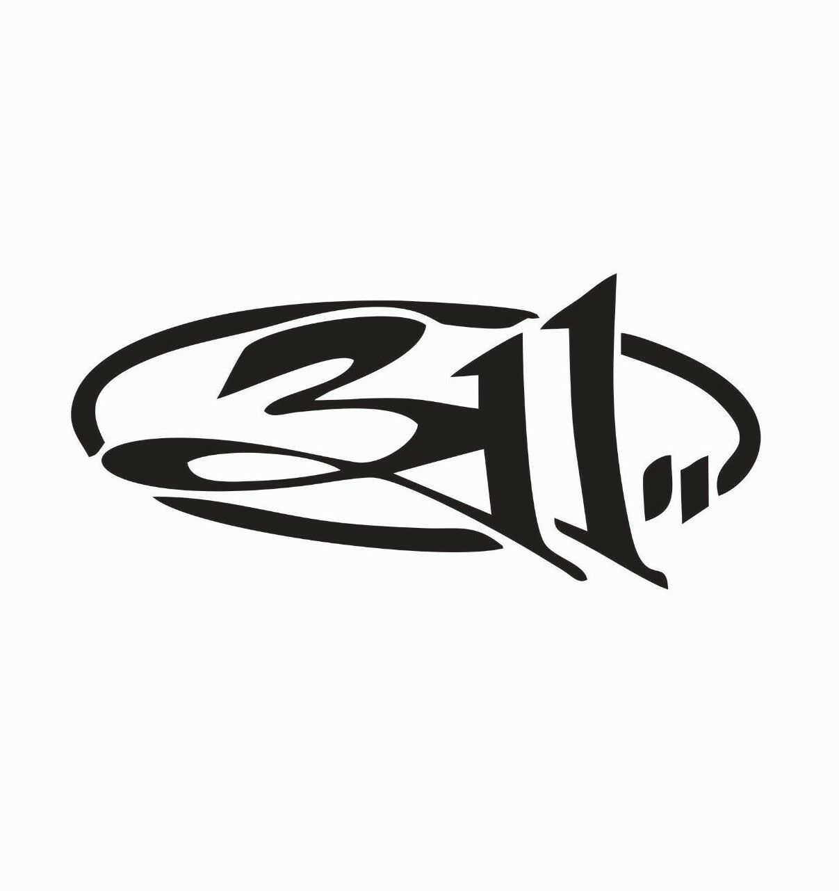 311 Music Band Vinyl Die Cut Car Decal Sticker-FREE SHIPPING