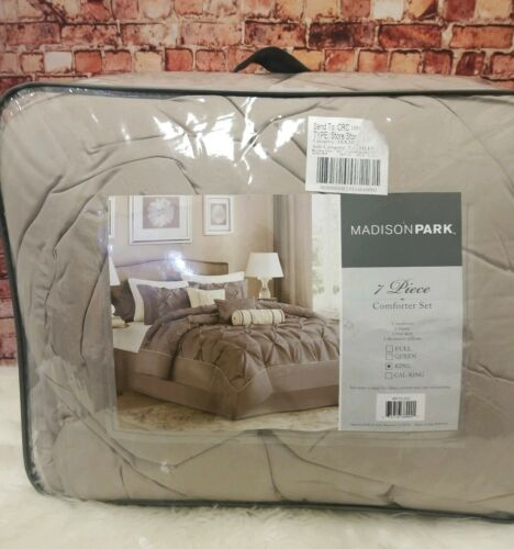 Madison Park Laurel King Size Bed Comforter Set Bed in A Bag