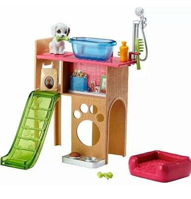 Barbie Pet Room Furniture and Accessories Playset FJB28
