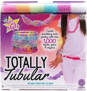 Just my style totally tubular Mesh Jewellery making kit -Kids