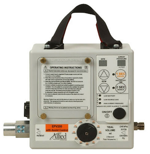 Allied Healthcare EPV200 Portable Breathing System with Assist Control - New