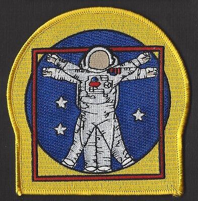 "NASA EVA ASTRONAUT SPACE WALK - Vitruvian Man - 4"" -  3 STAR PATCH MINT *****"