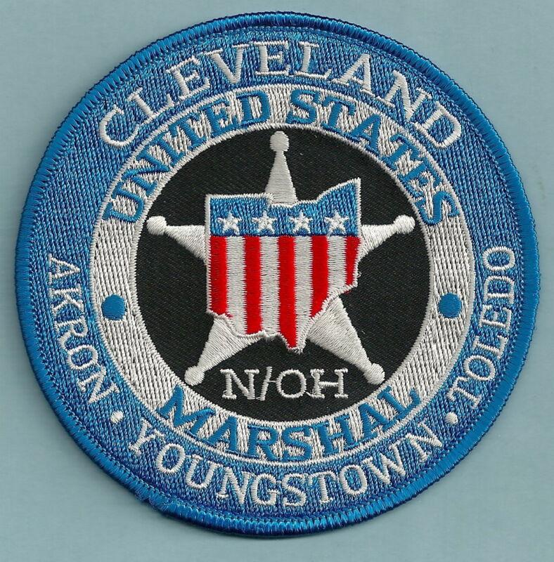 UNITED STATES MARSHAL CLEVELAND OHIO SHOULDER PATCH