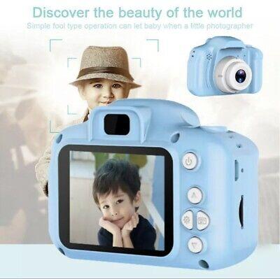 Mini Fotocamera per Bambini Ricaricabile Digitale BLU