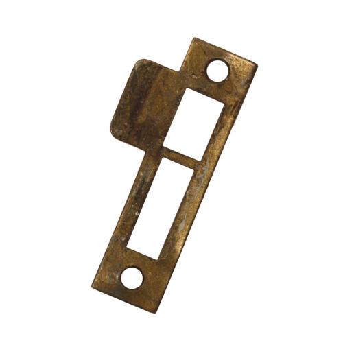 "Antique Strike Plates for Mortise Locks, 1/8"" Spacing, NSTP64"