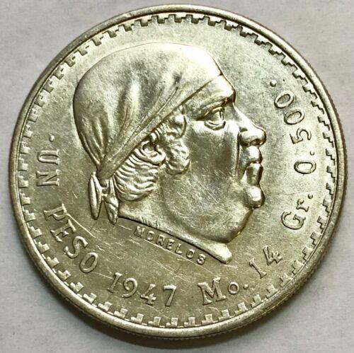 Mexico Lot of 100 Mexico 1 Peso Morelos Silver Coin
