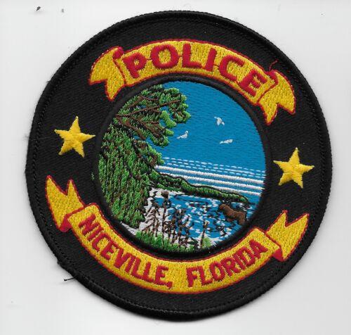 Niceville Police State Florida FL Colorful