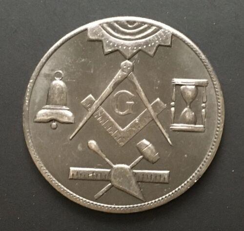 Lodge 702 Charlotte NC Named Made A Mason Masonic Chapter Penny Token