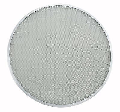 Winco Apzs-12 12 Round Seamless Aluminum Pizza Screen