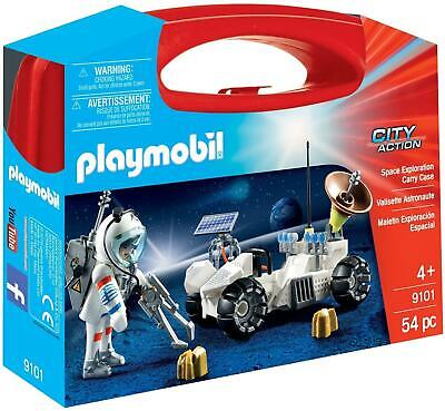 Playmobil  Space Exploration Carry Case Pretend Play with Toy Figures