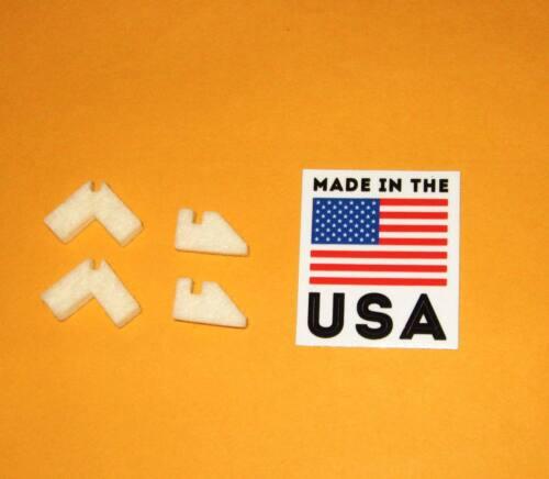 "Logan Lathe Way Felt Wiper Set for Logan 9"" 10"" 11"" 12""  LP-1692 New USA made"