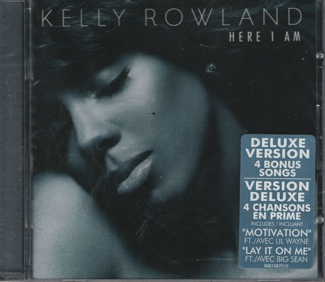 KELLY ROWLAND - HERE I AM - DELUXE VERSION    *NEW & SEALED CD ALBUM*