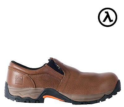 MCRAE INDUSTRIAL METGUARD COMPOSITE TOE SLIP-ON WORK SHOES MR81704 * ALL SIZES (Industrial Work Shoes)