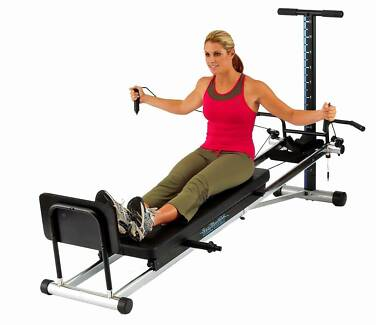 PILATES TOTAL TRAINER WITH POWER PACK, VIDEO BRAND NEW BOXED Joondalup Joondalup Area Preview