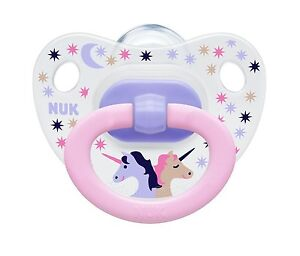 NUK Happy Days Size 2 (6-18m) Silicone Soother (2 pack)