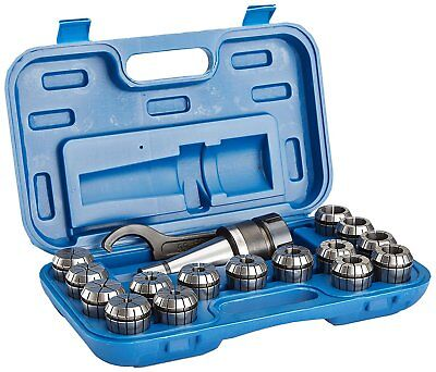 R8 17 Piece Er-40 Spring Collet Chuck Set 3900-0005