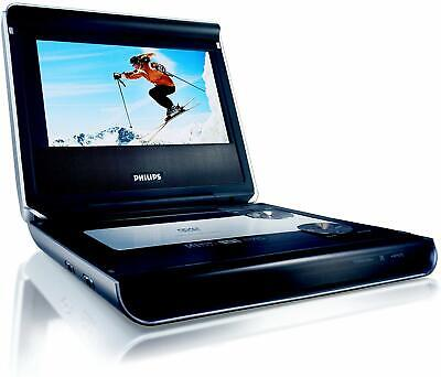 """Philips PET 720/05 Portable Multi-region Capable DVD Player with 7"""" Display"""