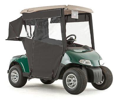 - EZGO RXV Golf Cart PRO-TOURING Sunbrella Track Enclosure - Black