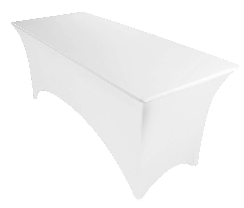 Utopia Kitchen Rectangular Stretch Tablecloth 6ft Spandex Ti